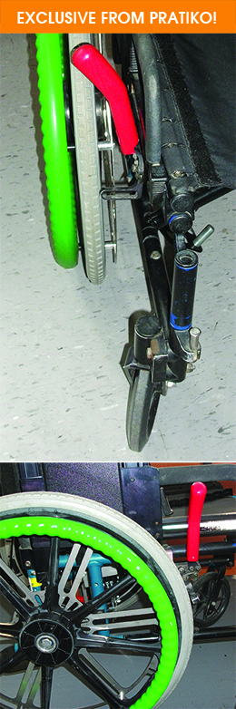Manuel Brake Extension For Wheelchair Pratiko